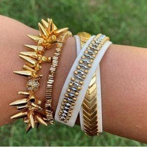 S&D Gilded Path Double Wrap Bracelet
